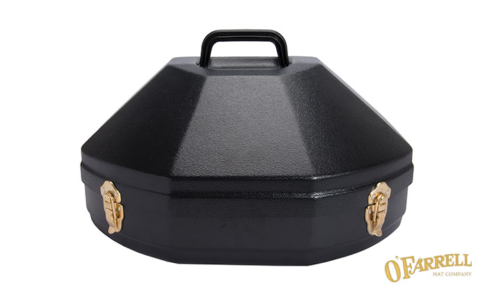 Single Hat Box Black