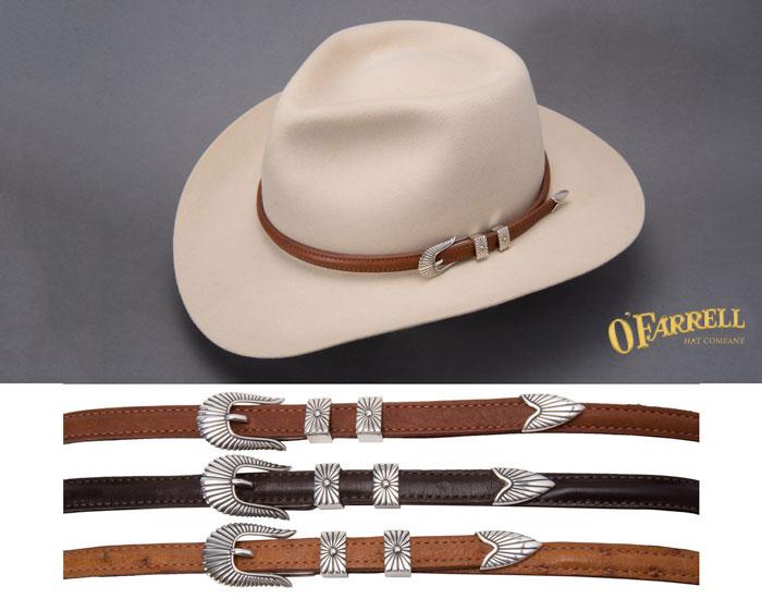 b44c10545a5 Custom Cowboy Hat Bands - ofarrellhatco.com