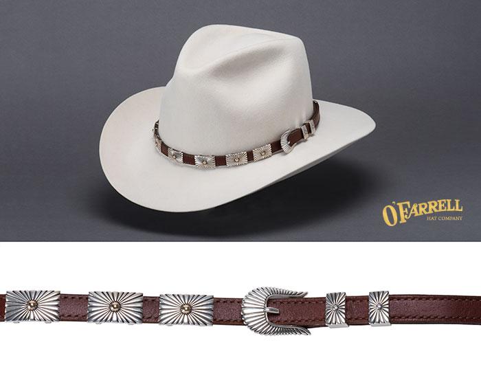 O Farrell Hat Company  Hat Bands Steve Taylor Hat Bands d9258d70ee73