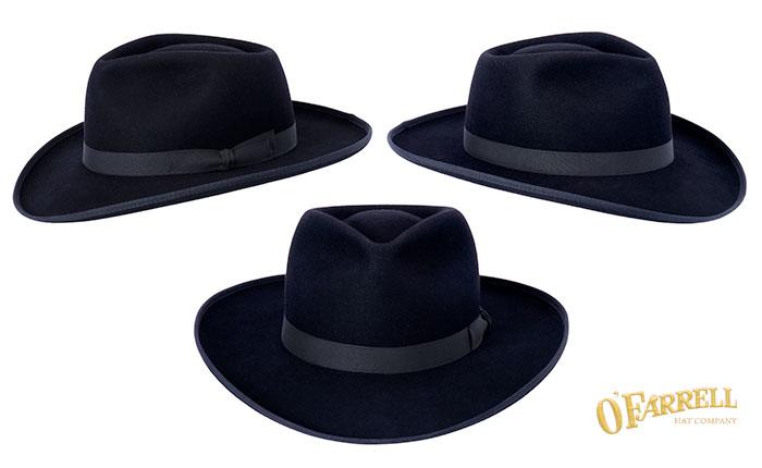 O Farrell Hat Company  Custom Hats Fedora 53c3b712f4a