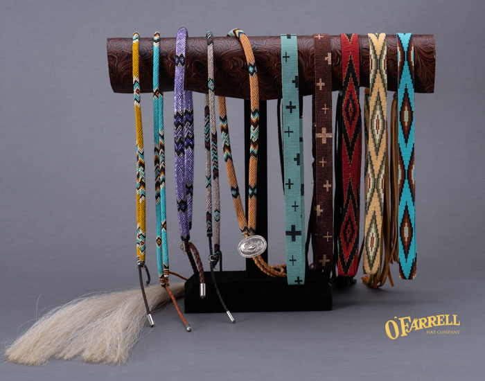 O'Farrell Hat Company: Hat Bands/One Of A Kind Hat Bands
