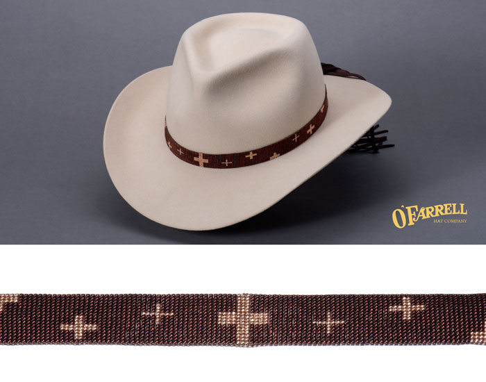 8ac24f2862c0d6 O'Farrell Hat Company: Hat Bands/One Of A Kind Hat Bands
