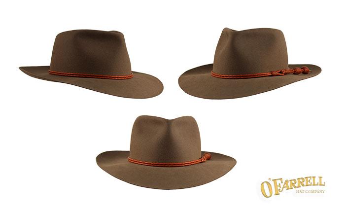 O Farrell Hat Company  Custom Hats Fedora 85fa5b6b94b